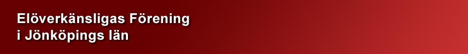 Elöverkänsligas Förening i Jönköpings Län